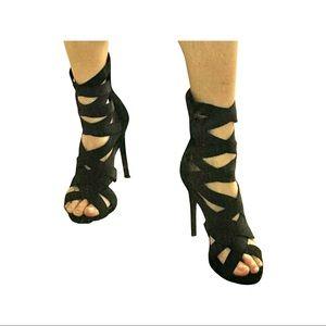 Stiletto Bandage Heels